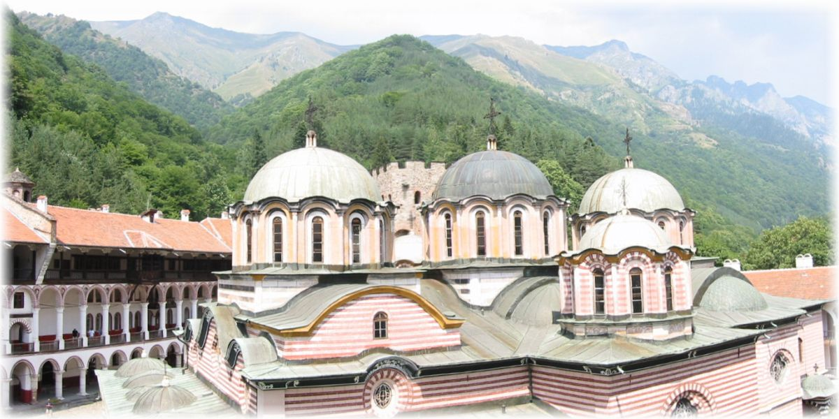 Rila-Kloster, Bulgarien