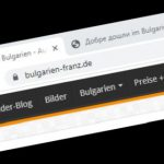 Bulgarien-Franz - Auswanderer Blog / Forum