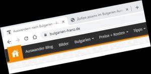 """""""Bulgarien-Franz"""" – Auswanderer Blog und Forum"""